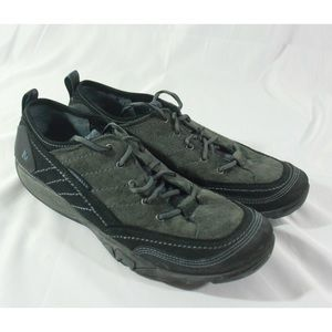 Womens Merrell Lace Black Hiking Shoes Size 10